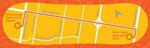 PanAmTorchRelay_Route_Mississauga